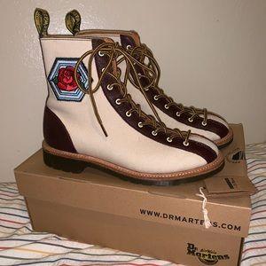 Dr Martens x Agyness Deyn boots size 8